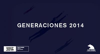 Cartel de Generaciones 2014 | Fallados Generaciones 2014 y el II Prêmio MASP de Artes Visuais