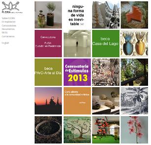 Pantallazo de la web de FLORA arsnatura   José Roca inaugura su proyecto FLORA ars+natura en Bogotá