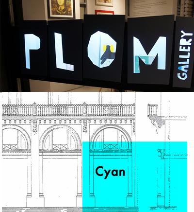 Plom Gallery y Cyan Art gallery | Plom, Cyan y Santa Teresa, nuevas aperturas en Barcelona