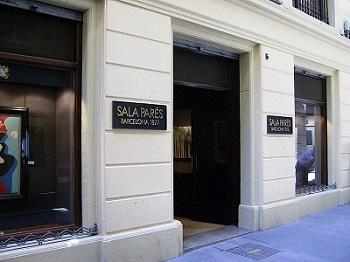 Entrada de la Sala Pares de Barcelona | La galería barcelonesa Sala Parés quiere posicionarse en China