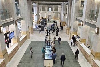 Interior del CentroCentro Cibeles. Fotografía de Javier Campano | CentroCentro Cibeles avanza sus nuevos proyectos expositivos