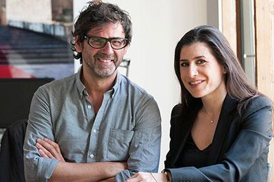 Eva Gonzalez-Sancho y Juan de Nieves   Eva González-Sancho y Juan de Nieves, directores artísticos de SUMMA 2014