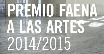 Premio Faena a las Artes 2015 | El Faena Arts Center convoca su Premio a las Artes 2015
