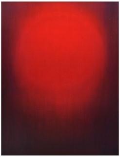 Sergio Lucena, Pintura N° 24, 2011, serie Ænigma Lucens, óleo sobre tela, 170x130 cm.