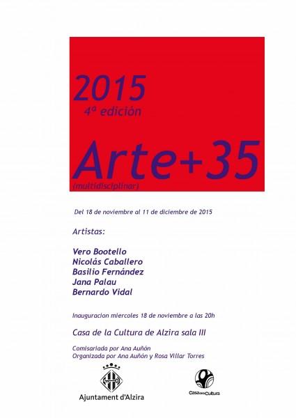 4ª edición Arte +35