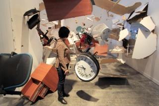 Detalhe da instalação dos Los Carpinteros como convidados do jornal EL PAíS na ARCOMadrid 2011