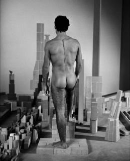 Miquel Navarro, El cuerpo y la ciudad de refractario I, 2003, archival pigment print on Ilford paper mounted on Dibond, 200.5 x 161 cm, edition 2