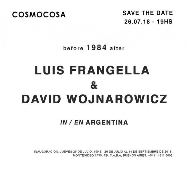 Luis Frangella & David Wojnarowicz in/en Argentina