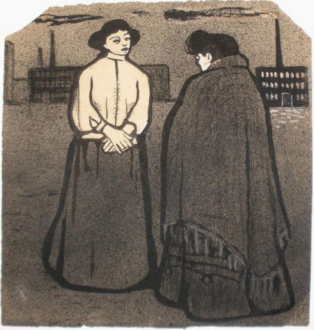Ismael Smith, Il·lustració satírica, 1907 — Cortesía de Antiguitats Palau