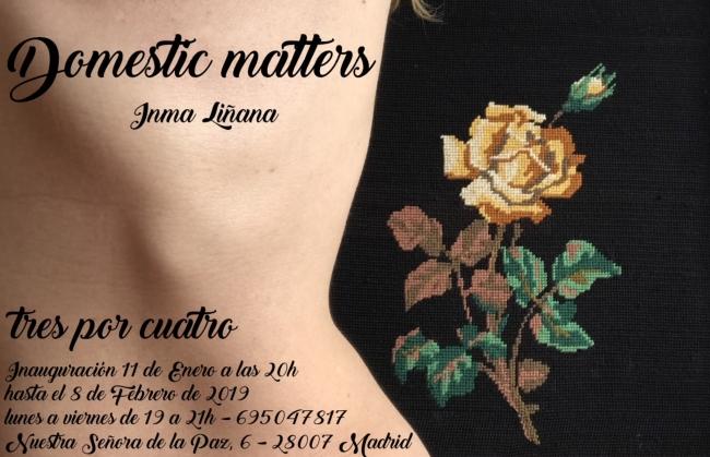 "Inma Liñana ""Domestyc Matters"""