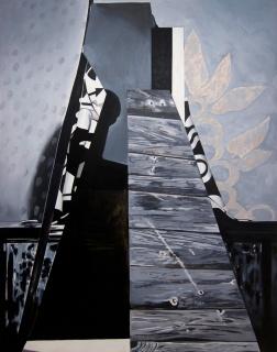 Ubay Murillo, 2018. Óleo sobre lienzo, 180x140 cm. — Cortesía de la Galería Rafael Ortiz