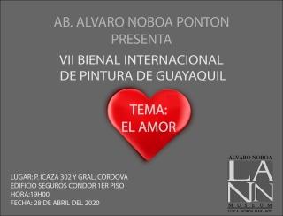 VII Bienal de Pintura Internacional de Guayaquil Álvaro Noboa Pontón