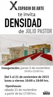 Julio Pastor, Densidad