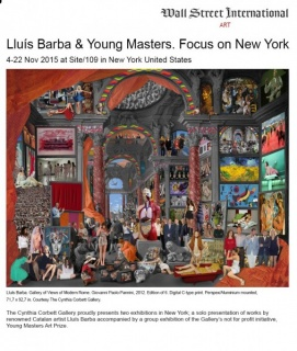 Lluís Barba & Young Masters. Focus on New York
