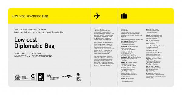 Low Cost Diplomatic Bag