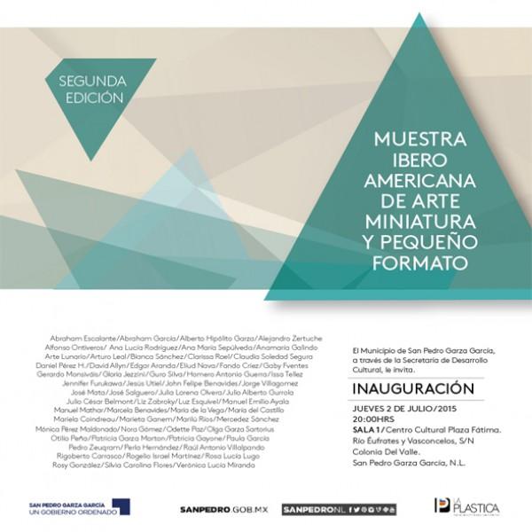 Segunda Muestra Iberoamericana de Arte Miniatura y Pequeño Formato