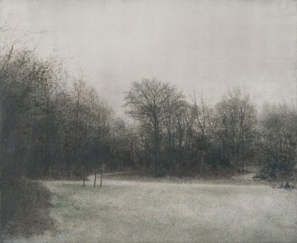 Invierno en Frederiksberg Have de Miguel Galano