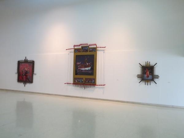 Vistas de las obras en la Sala 5 del Museo