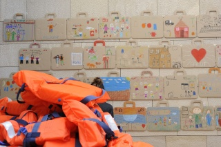 Big Draw. La Fiesta del Dibujo, 7ª. edición Museu Picasso, Barcelona. Fotografía: Jordi Mota – Cortesía del Museu Picasso Barcelona