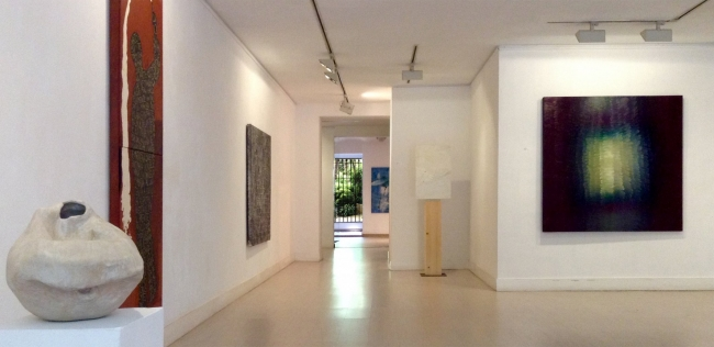 Vista de la exposición – Imagen cortesía de Àmbit Galeria d'Art