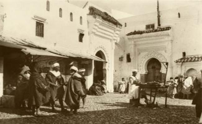 Autor desconocido, Zoco el Foki, Tetúan, 1931, Colección Marañón, CDIS — Cortesía del Centro de Documentación de la Imagen de Santander (CDIS)