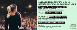 La Mujer en la Cultura y en la Gestión Cultural en Castilla y León