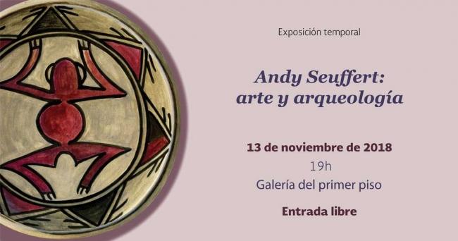 Andy Seuffer: arte y arqueología. Imagen cortesía Museo Nacional de Antropología