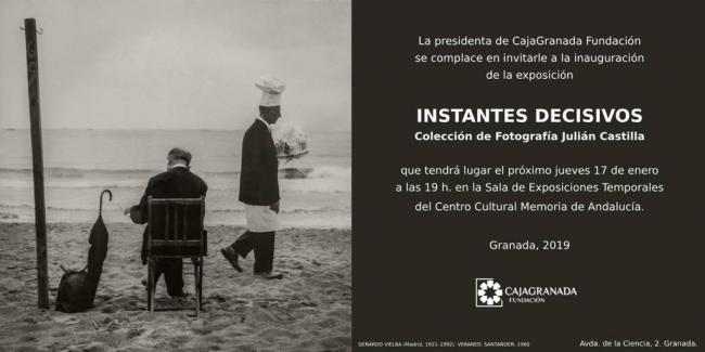"""""""Instantes decisivos"""" - Colección de Fotografía Julián Castilla."""