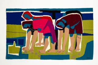 Marisqueiras. María Elena Montero y Luis Seoane