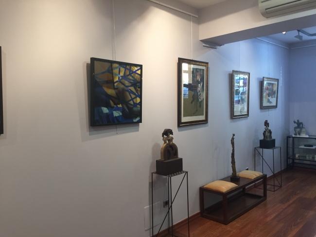 Obras exposición colectiva