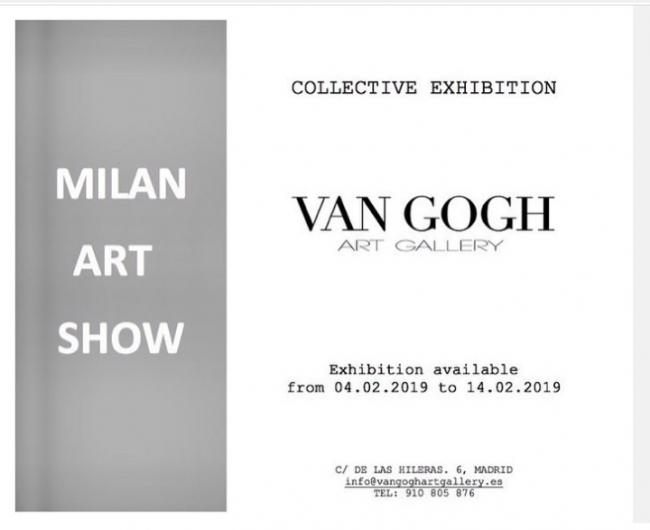 Milán art show