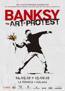 Banksy. The art of protest