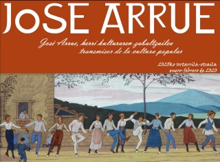Jose Arrue, transmisor de la cultura popular