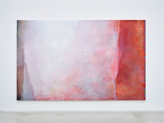 J'efface, et cela apparaît, Angel Vergara, 2020, Oil on canvas, 200 x 321 cm © Axel Vervoordt Gallery - Jan Liégeois — Cortesía de Axel Vervoordt Gallery