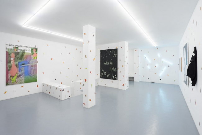 Vista de la exposición «Deflatable aesthetic» — Cortesía de Balcony