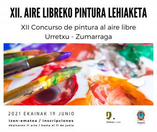 CONCURSO DE PINTURA AL AIRE LIBRE URRETXU Y ZUMARRAGA