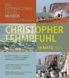 Encuentro virtual con el artista Christopher Lehmpfuhl