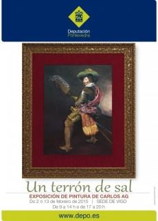 """Cartel Exposición \""""Un terrón de sal\"""""""
