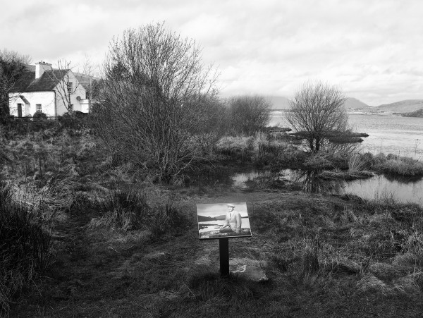 Eduardo Momene. Entre los lagos Bofin y Agraffard, 1 x 0,70 m, fotografía técnica
