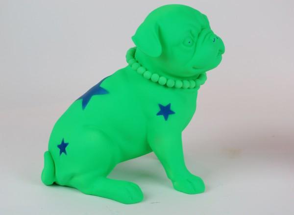 Felipao. PIPPA green fluor, resina pintura acrílic
