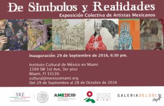 De Símbolos y Realidades. Exposición Colectiva de Artistas Mexicanos.
