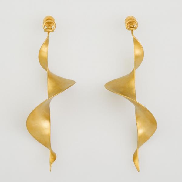 Helicoid I Earrings