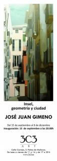 José Juan Gimeno, Insel, geometría y ciudad