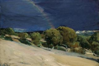 El arco iris, El Pardo - Sorolla