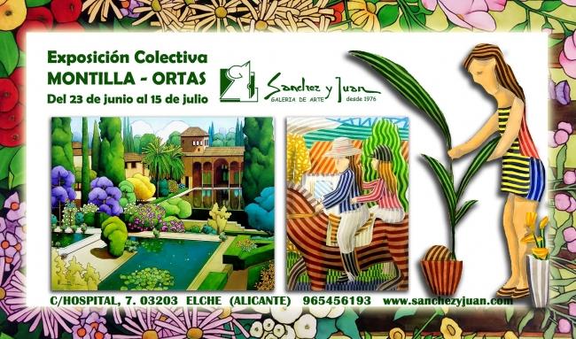 Exposición colectiva Montilla - Ortas