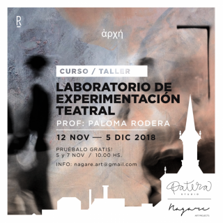 Laboratorio de Experimentacion Teatral, por Paloma Rodera