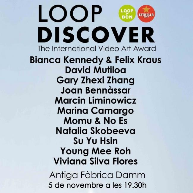 Premio LOOP Discover 2018
