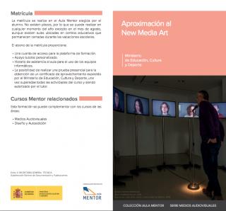 APROXIMACIÓN AL NEW MEDIA ART