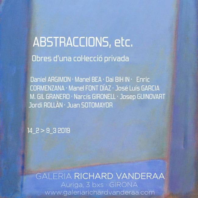 Abstraccions, etc.