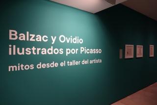 Balzac y Ovidio ilustrados por Picasso: mitos desde el taller del artista — Cortesía del Ayuntamiento de Málaga